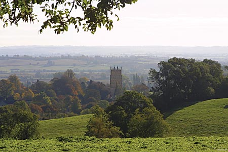 Chipping Campden View - photo by Terry J Morgan