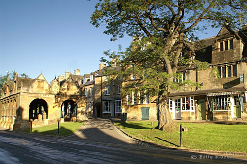 Chipping Campden High Street and Market Hall