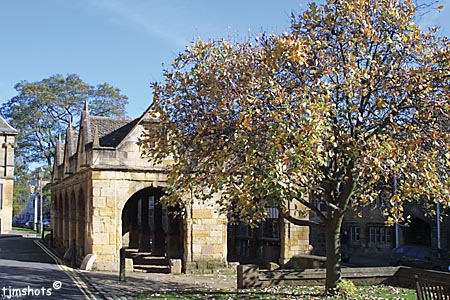 Market Hall, Chipping Campden - photo by Terry J Morgan
