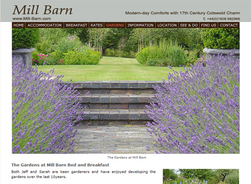 QuinSolve Website for Mill Barn